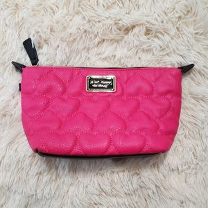 💟BOGO💟Betsey johnson like new cosmetic bag